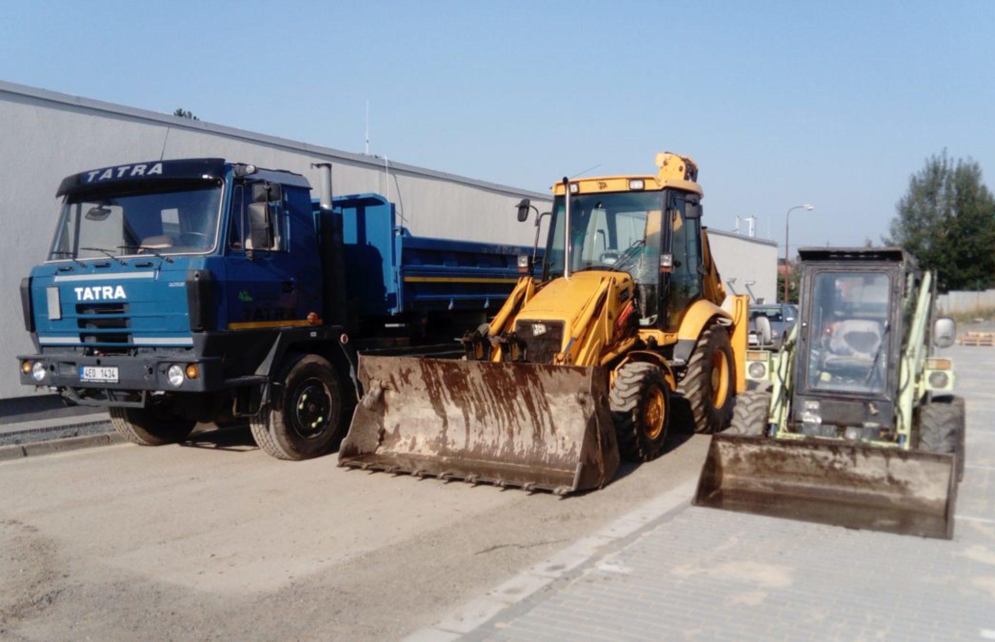 Nákladní doprava a zemní práce Martin František